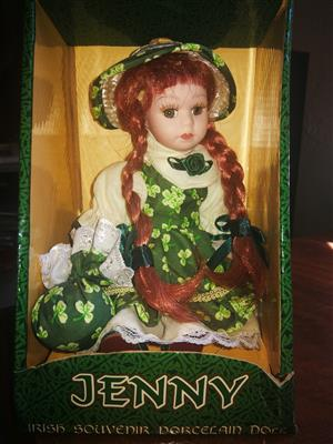 Irish souvenir porcelain doll