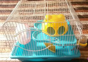 Cute Hamster cage