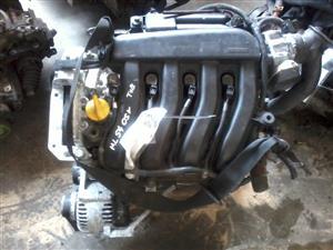 renault k4m 1 4 16v engine for sale R11500 | Junk Mail