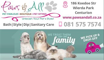 Paws and All Dog and Cat Grooming parlour