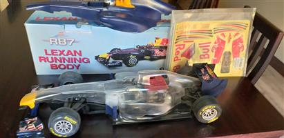 Red Bull F1 Nitro Engine Radio Controlled car