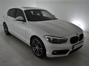 2019 BMW 1 Series 118i 5 door Sport Line auto