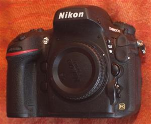 Used Nikon D800E 36.3MP Digital Camera Body with 2 Batteries. In very good condition, like new shutter count = 623