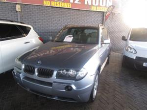 2006 BMW X3 sDRIVE 2.0 (G01)