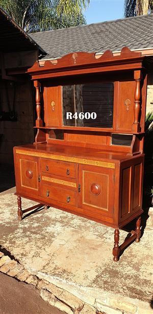 Burmese Teak Antique Dresser (1520x525x2020)