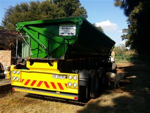 34ton side tipper to rent