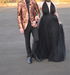 Beautiful Black matric farewell dress/ evening dress for sale