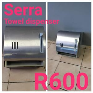 Serra towel dispenser for sale