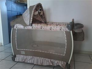 Used, CAMPING COT & Baby Car Chair - Bambino for sale  Alberton