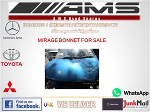 MITSUBISHI MIRAGE BONNET FOR SALE (SECOND HAND)