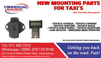 Mounting Parts and Spares For Taxis For Sale.