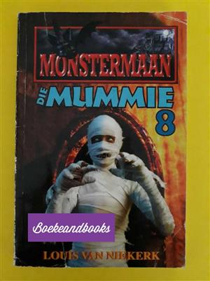 Monstermaan - Die Mummie 8 - Louis Van Niekerk.
