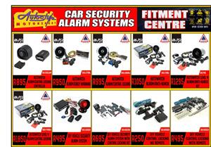 Supply and fitment of VESA approved alarm systems