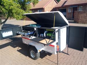 Camping trailer with all accessories