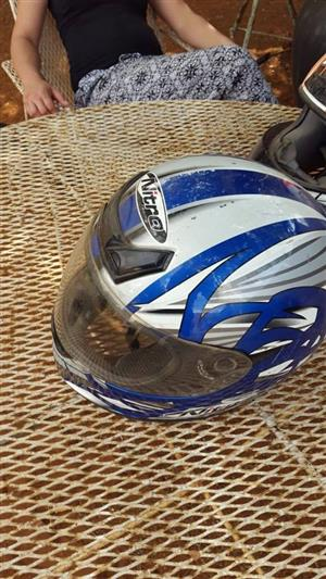 Blue Nitro helmet for sale