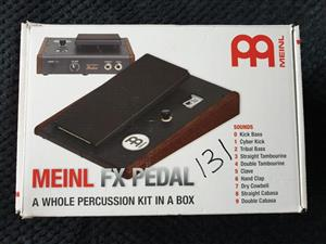 Meinl FX Stomp Guitar Percussion Pedal