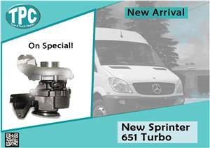 New 651 Turbo Mercedes Benz Sprinter 2014 for sale at TPC