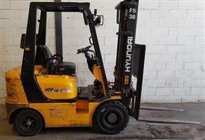 Hyundai Forklift - 1.8 Ton Diesel