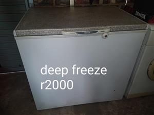 Large deep freeze
