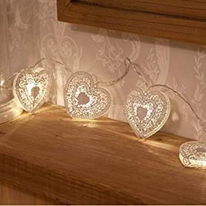 Heart Shaped 20 LED Fairy lights.