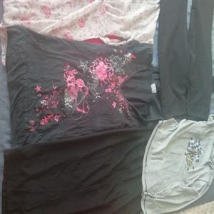 mixed clothing