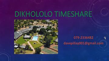 DIKHOLOLO TIMESHARE