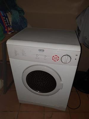 Defy white 5kg tumble dryer