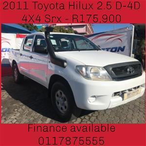 2011 Toyota Hilux 2.5D 4D double cab Raider