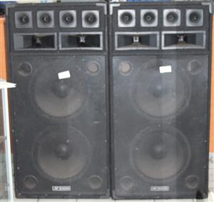 S035646A 2 X Dixon 15 inch speakers #Rosettenvillepawnshop