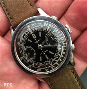 Wanted rolex chronograph  watch