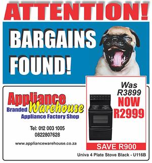 Promotion on STOVES - go ahead, compare!