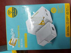 Tp-Link Powerline Stater kit + Wifi