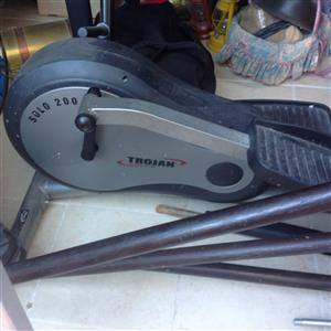 Trojan cycling gym and punching bag