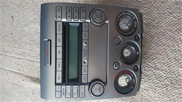 2009 Ford Ranger Standard Radio and CD player with Aircon button and Emergency Button
