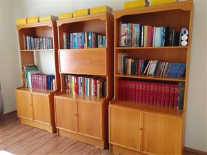 Bookshelves Solid Yellow Oak