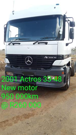 2011 Actros 33-48