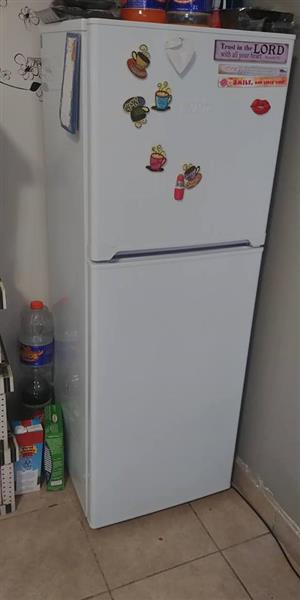 White fridge with top freezer for sale