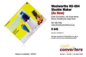 Woolworths HU-004 Slushie Maker (As New)