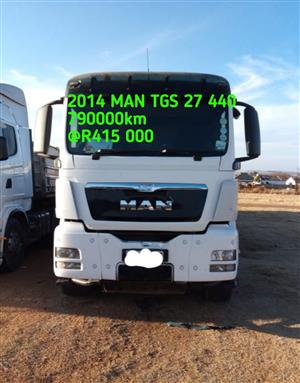 2014 MAN TGS 27 440