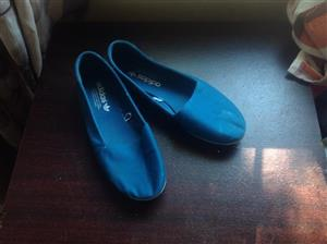 Blue Adidas shoes for sale
