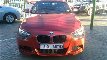 2012 BMW 1 Series 118i 5 door M Sport