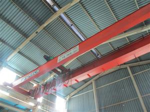 Sacmech 10 Ton, 13 Meter Span Gantry Crane - ON AUCTION