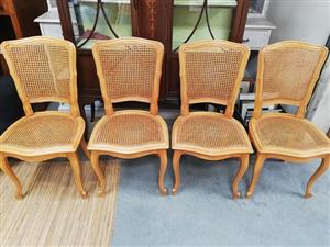 4 x French style chairs
