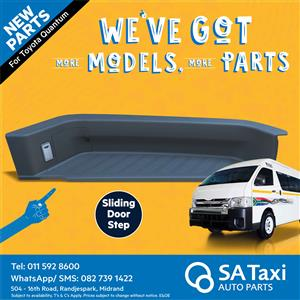 Sliding Door Step for Toyota Quantum - SA Taxi Auto Parts quality taxi spares