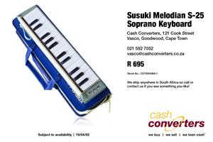 Susuki Melodian S-25 Soprano Keyboard