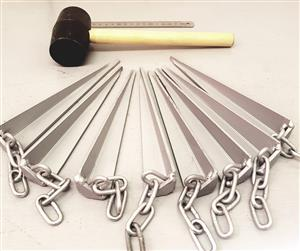 Safety Tent Pegs