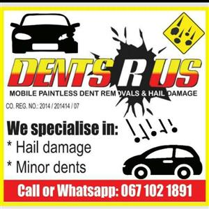DENTS R US Paintless Dent Removal