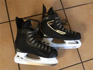 CCM ice skates.