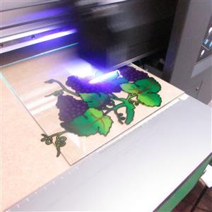 UV Flat bed CMYK Printing machine for sale