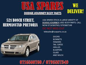 DODGE JOURNEY USED REPLACEMENT BODY PANELS